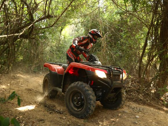 Primeiras Impressoes Do Novo Quadri Honda Trx 420 Fourtrax
